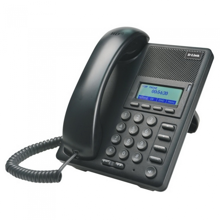 DPH-120SE/F1C VoIP Phone with PoE support, 1 10/100Base-TX WAN port and 1 10/100Base-TX LAN port. - интернет-магазин Skyey.ru