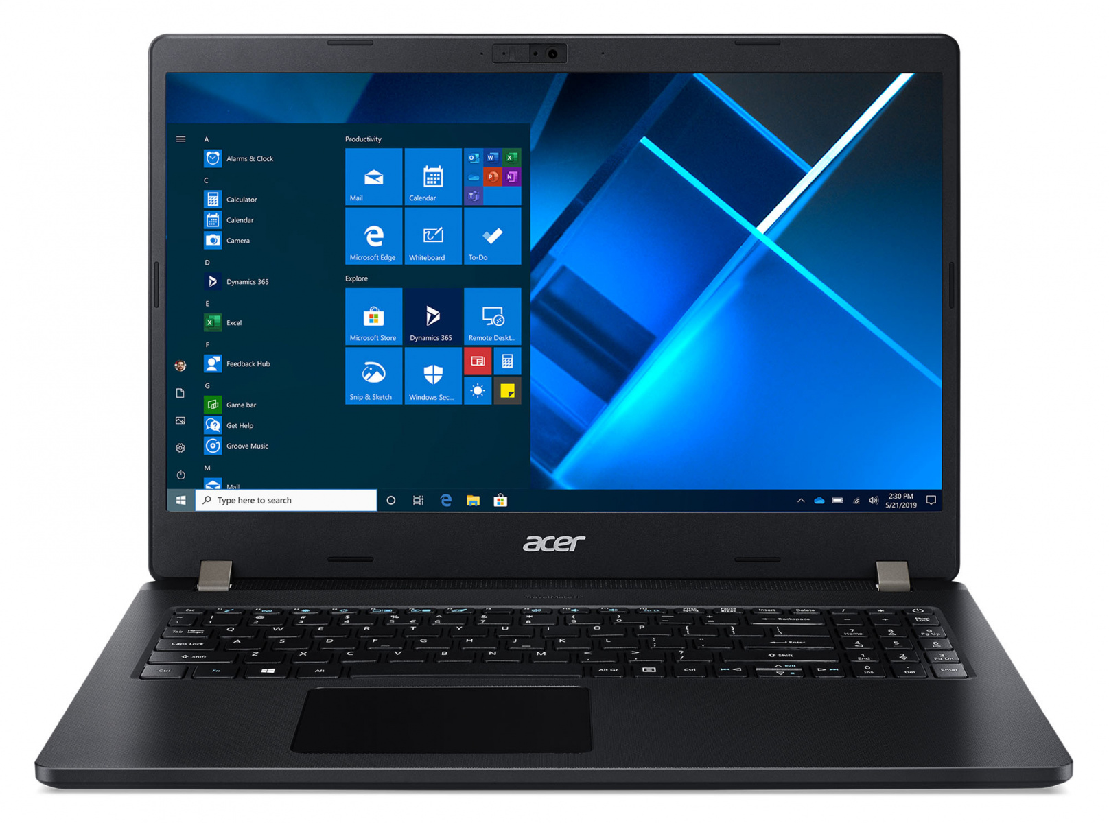 Ноутбук Acer TMP215-53-36CS TravelMate 15.6'' FHD(1920x1080) IPS nonGLARE/Intel Core i3-1115G4 3.00GHz Dual/8 GB+256GB SSD/Integrated/WiFi/BT/1 MP/SD,SDXC,SDHC/Fingerprint/3cell/1,8 kg/W10Pro/3Y/BLACK - интернет-магазин Skyey.ru