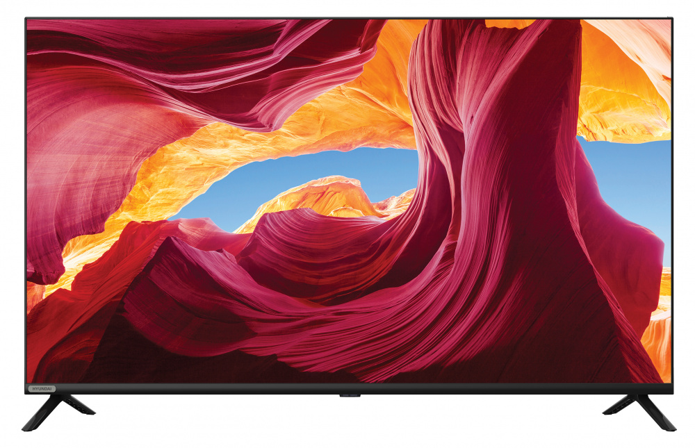 "Телевизор LED Hyundai 43"" H-LED43ET4100 Frameless черный/FULL HD/60Hz/DVB-T2/DVB-C/DVB-S2/USB (RUS) - интернет-магазин Skyey.ru"