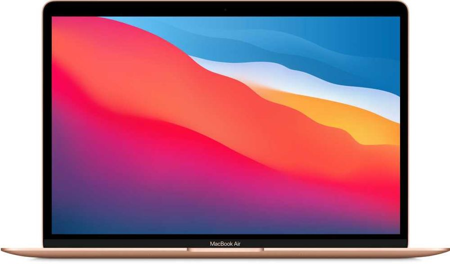 [Ноутбук] Apple MacBook Air 13 Late 2020 [Z12A0008K, Z12A/1] Gold 13.3'' Retina {(2560x1600) M1 chip with 8-core CPU and 7-core GPU/8GB/512GB SSD} (2020) - интернет-магазин Skyey.ru