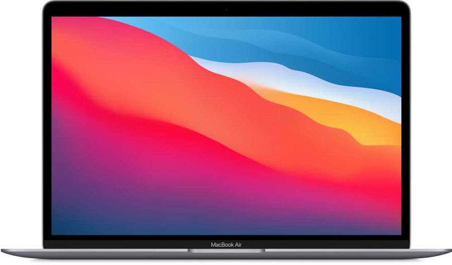 [Ноутбук] Apple MacBook Air 13 Late 2020 [Z1250007M, Z125/3] Space Grey 13.3'' Retina {(2560x1600) M1 chip with 8-core CPU and 8-core GPU/16GB/512GB SSD} (2020) - интернет-магазин Skyey.ru