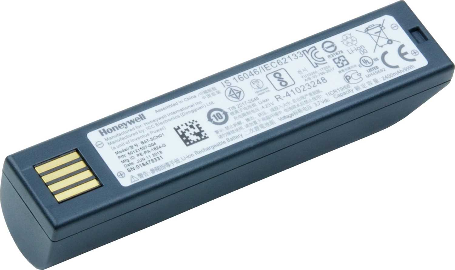 Аккумулятор Honeywell BAT-SCN01A для 1202/1452/1902/1911i/1981i/3820/3820i - интернет-магазин Skyey.ru