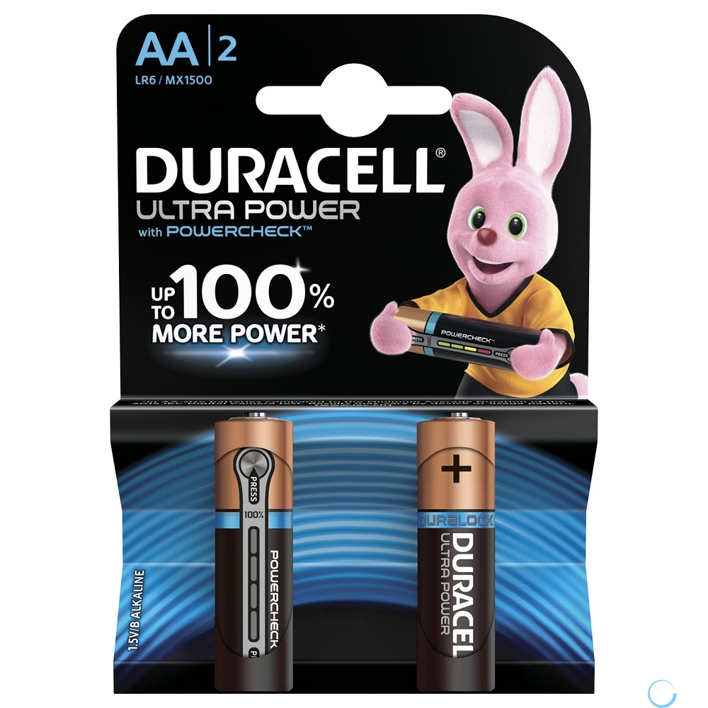 DURACELL LR6-2BL Ultra Power (2 шт. в уп-ке) - интернет-магазин Skyey.ru