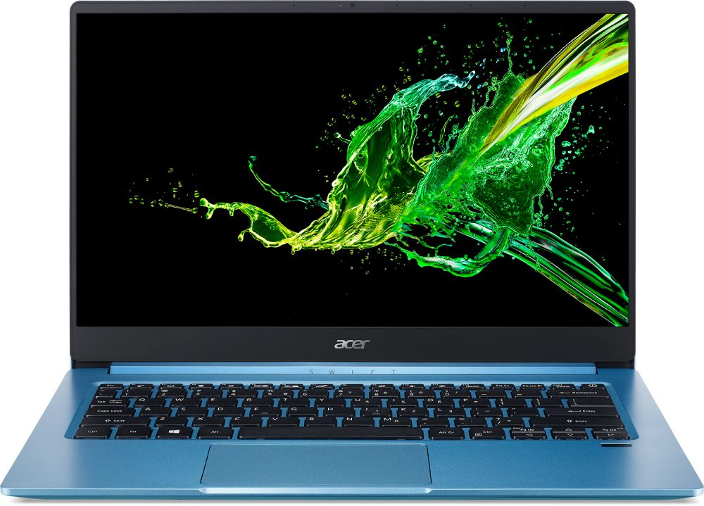"Ультрабук ACER Swift 3 SF314-57-363E, 14"", IPS, Intel Core i3 1005G1 1.2ГГц, 8ГБ, 256ГБ SSD, Intel UHD Graphics, Windows 10, NX.HJHER.003, голубой - интернет-магазин Skyey.ru"