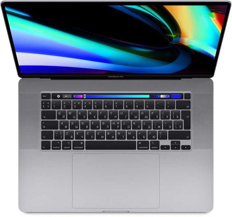 "[Ноутбук] Apple MacBook Pro 16 Late 2019 [MVVK2RU/A] Space Grey 16"" Retina {(3072x1920) Touch Bar i9 2.3GHz (TB 4.8GHz) 8-core/16GB/1TB SSD/Radeon Pro 5500M with 4GB} (Late 2019) - интернет-магазин Skyey.ru"