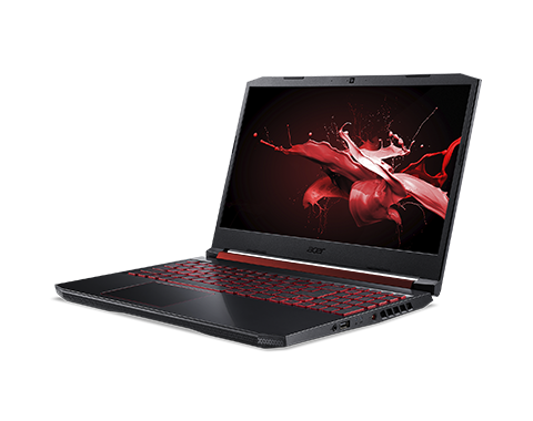 Ноутбук Acer AN515-54-50YQ Nitro 15.6'' FHD(1920x1080)/Intel Core i5-9300H 2.40GHz Quad/12GB+512GB SSD/GF GTX1650 4 GB/WiFi/BT/1.0MP/4cell/2,2 kg/W10/1Y/BLACK - интернет-магазин Skyey.ru