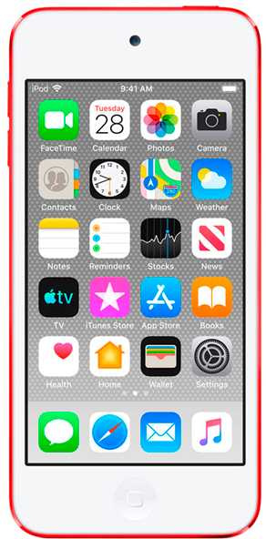 Apple iPod touch 128GB Red - интернет-магазин Skyey.ru