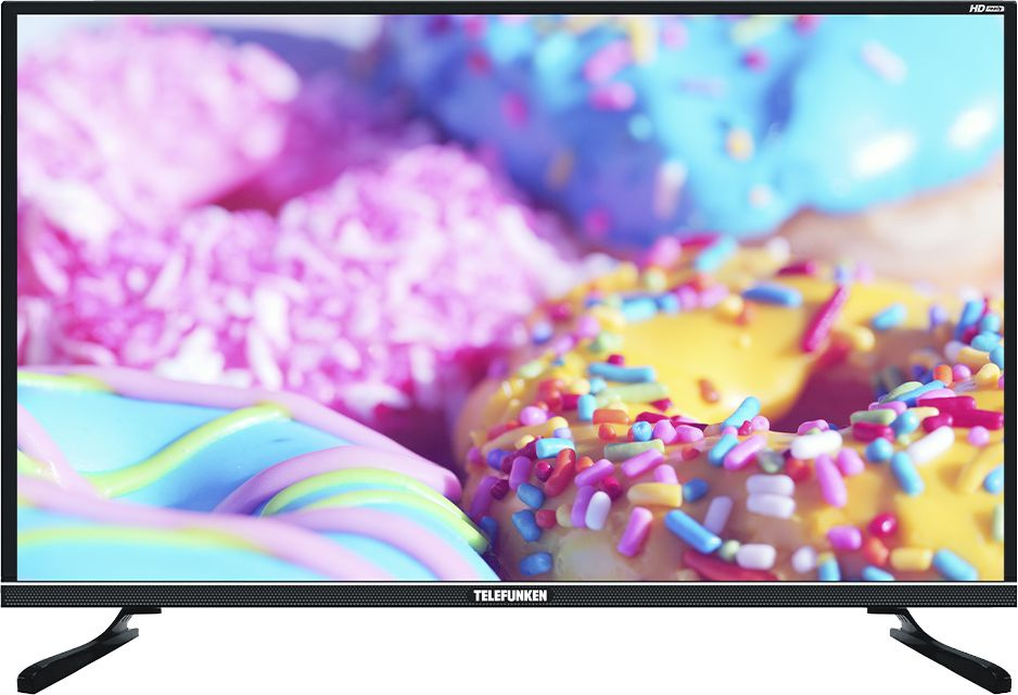 "Телевизор LED Telefunken 32"" TF-LED32S33T2S черный/HD READY/50Hz/DVB-T/DVB-T2/DVB-C/USB/WiFi/Smart TV (RUS) - интернет-магазин Skyey.ru"